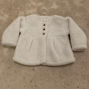 Carter's Fuzzy Fleece Sweater